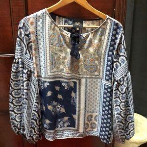W5 peasant blouse